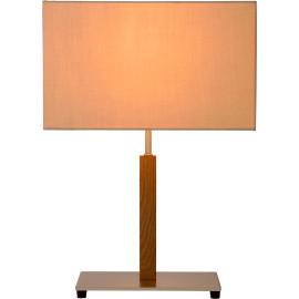 Lampe de table classique en tissu taupe Australia