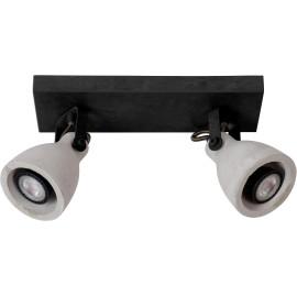 Spot plafond moderne LED 2x5W Sven