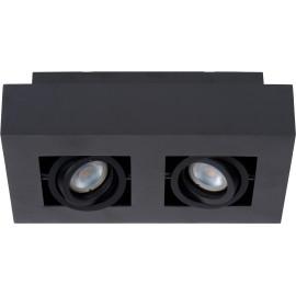Spot plafond LED 2 lampes design Cap