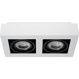 Spot plafond design LED 2 lampes Saphir