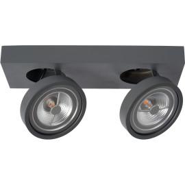 Spot plafond LED design 2 lampes Robin