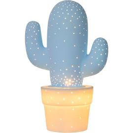 Lampe à poser moderne en céramique blanche Kaktus