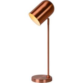 Lampe de table classique en acier effet cuivre Stanley