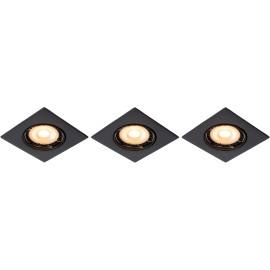 Spot encastrable LED pack de 3 Sun