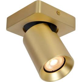 Spot plafond design LED dimmable en laiton Sean