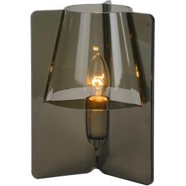 Lampe à poser design en acrylique gris foncé Lucile