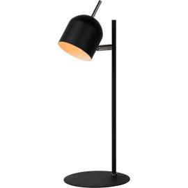 Lampe de bureau vintage en métal noir Berenice