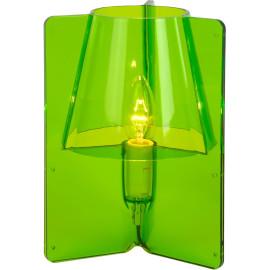 Lampe à poser design en acrylique vert Lucile
