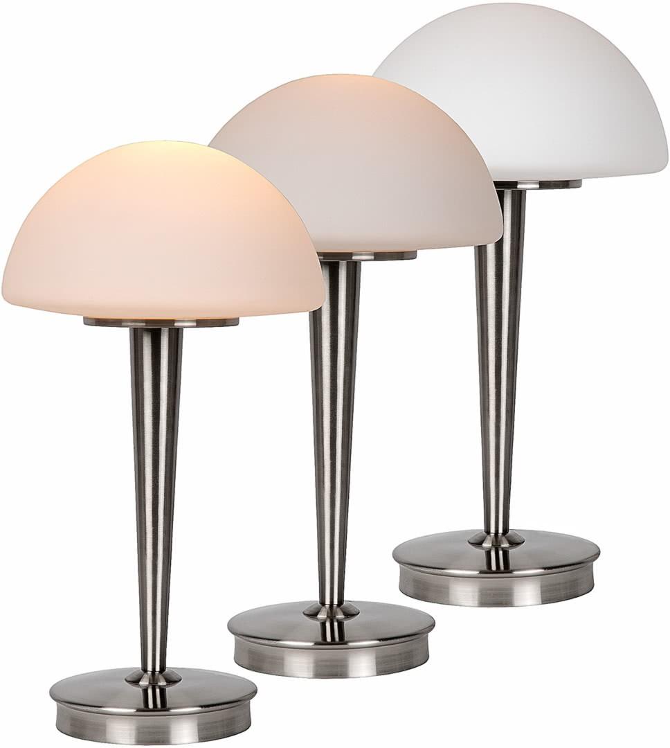 Table Tactile De Verre Lampe Contemporaine Leo En Opaque qLMGUVSzp