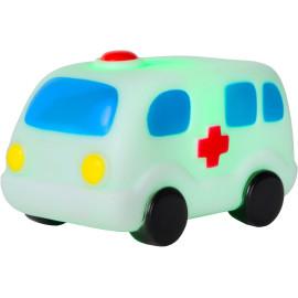 Veilleuse enfant led ambulance blanche Magy