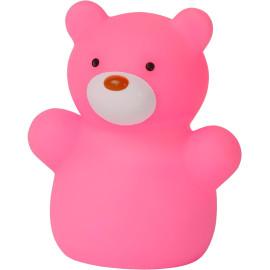 Veilleuse enfant led ours rose Teddy