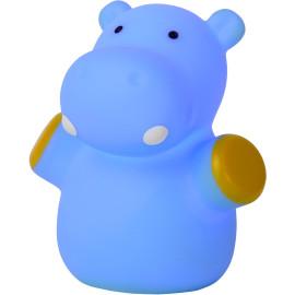 Veilleuse enfant led hippopotame bleu Igor