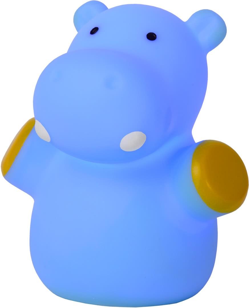 Led Veilleuse Enfant Hippopotame Bleu Igor WDE9IYH2