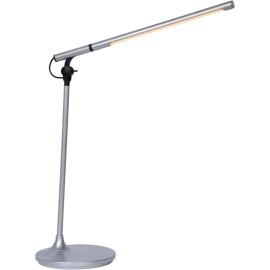 Lampe de bureau moderne led en métal gris Elara