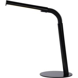 Lampe de bureau contemporaine Led en métal noir Doris
