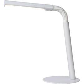 Lampe de bureau contemporaine Led en métal blanc Doris