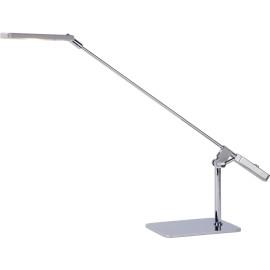 Lampe de bureau moderne en acier chromé Nexos