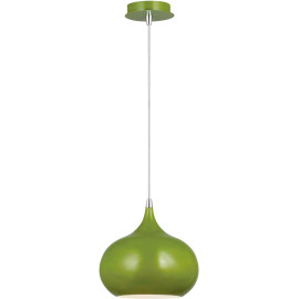 Suspension design en acier vert olive Sileone