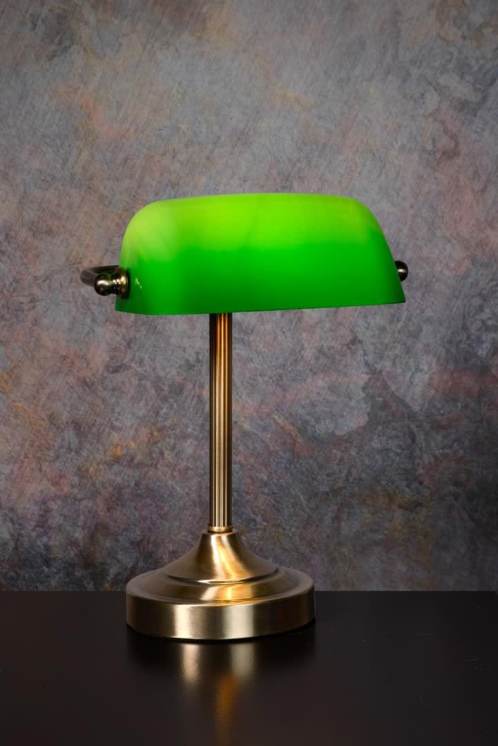 Luxory Poser Vert Et Lampe Vintage En Métal À Verre FJTl1Kc