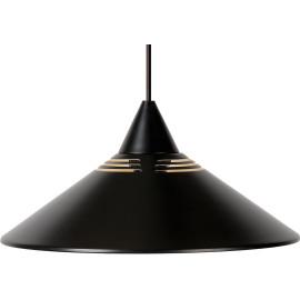 Suspension design en métal noir Roselia