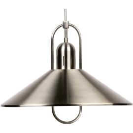 Suspension design en métal satin chromé Prada