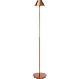 Lampadaire vintage en métal cuivre rouge Corina