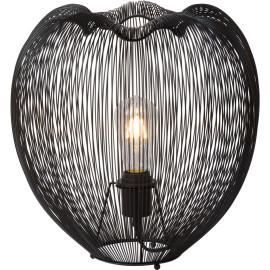 Lampe à poser design en métal noir Ø 35 cm Nattie