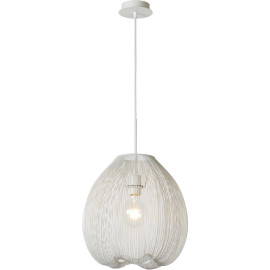 Suspension design en métal blanc Ø 36 cm Nattie