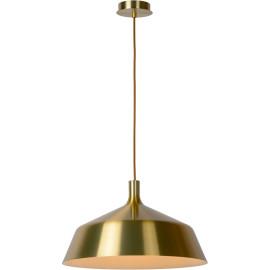 Suspension moderne en métal doré mat Ø 45 cm Guerda