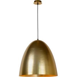 Suspension moderne en métal doré mat Ø 50 cm Avoria