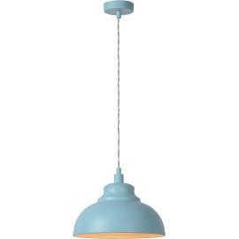 Suspension classique en métal bleu pastel mat Jewel
