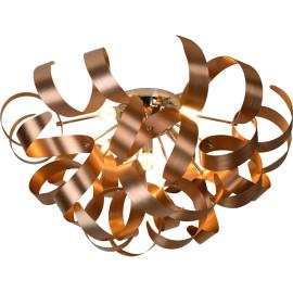 Plafonnier moderne led en aluminium cuivre Alta