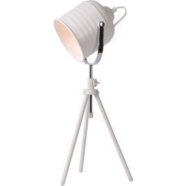 Lampe à poser design en métal blanc Cisco