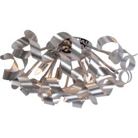 Plafonnier moderne en aluminium gris Alta