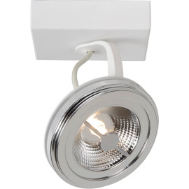 Spot design led en métal blanc 11 cm Onida