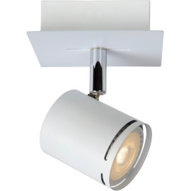 Spot design en métal blanc 1 spot Nigaro