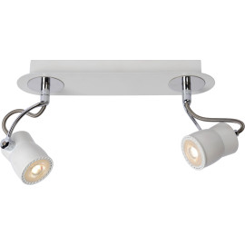 Spot led design blanc 2 spots Eleanora