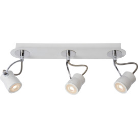 Spot led design blanc 3 spots Eleanora