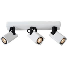 Spot design led blanc 3 spots Liminea