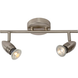 Applique vintage led 2 spots chrome Cecilia
