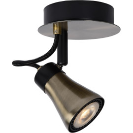 Spot design led effet bronze Bloom