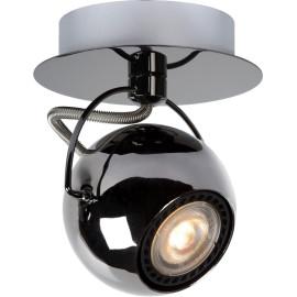 Spot boule design led métalisé Rondo