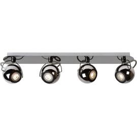 Spot boule design led métalisé 4 spots Rondo
