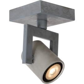 Plafonnier industriel en métal 1 spot Trevis