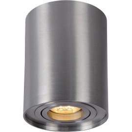 Spot tube design en aluminium chrome Alberto