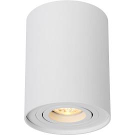 Spot tube design en aluminium blanc Alberto