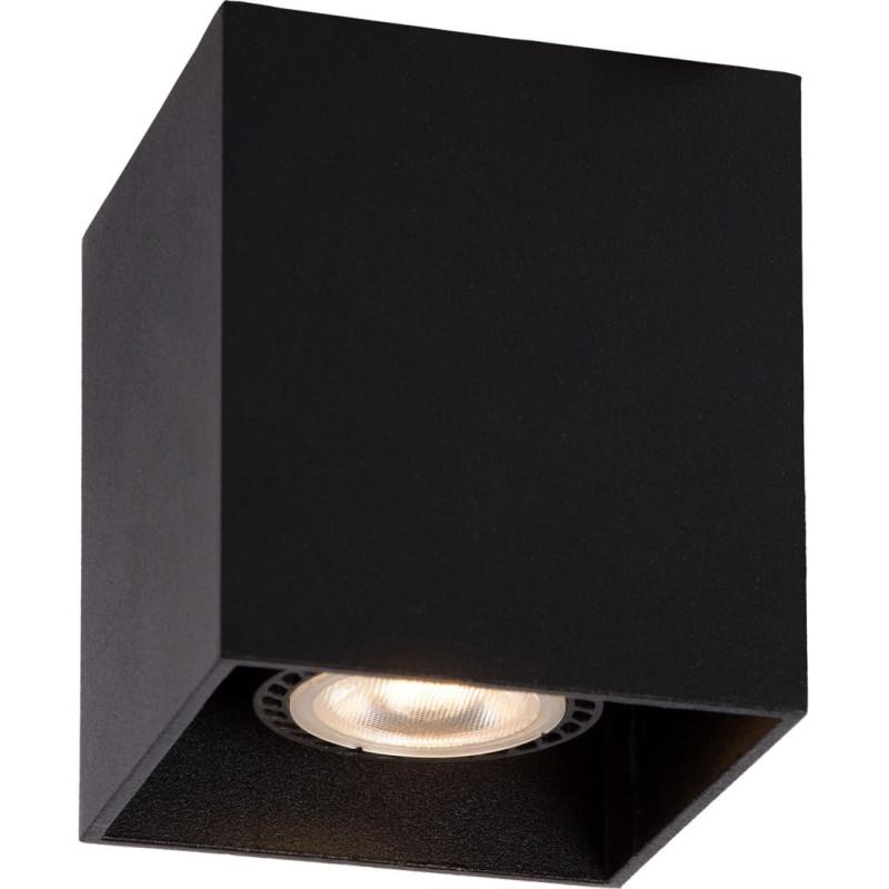 plafonnier design cubique noir malicia. Black Bedroom Furniture Sets. Home Design Ideas