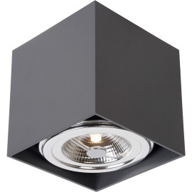 Spot led design carré gris anthracite Diablo