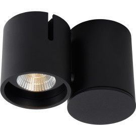 Spot design led modulable noir Warras