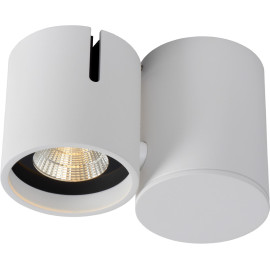 Spot design led modulable blanc Warras
